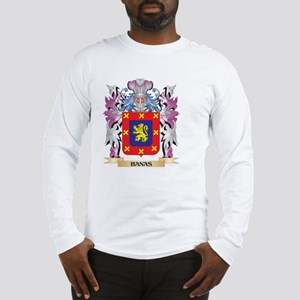 Banas Coat of Arms (Family Cre Long Sleeve T-Shirt