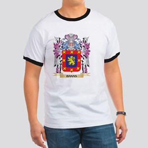 Banas Coat of Arms (Family Crest) T-Shirt