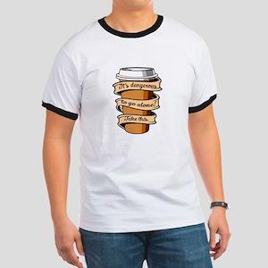 Take Coffee Ringer T
