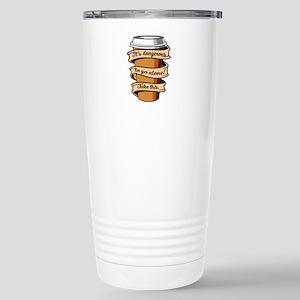 Take Coffee Stainless Steel Travel Mug