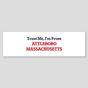 Trust Me, I'm from Attleboro Massac Bumper Sticker