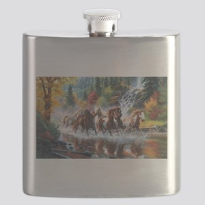 Wild Creek Run Flask