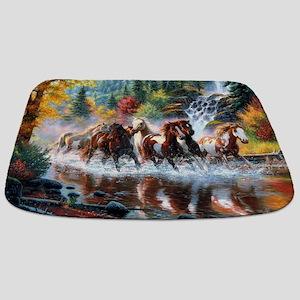 Wild Creek Run Bathmat
