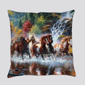 Wild Creek Run Everyday Pillow
