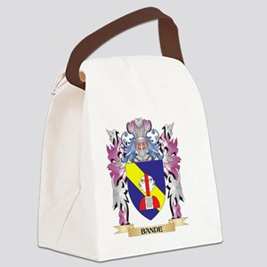 Bande Coat of Arms (Family Crest) Canvas Lunch Bag