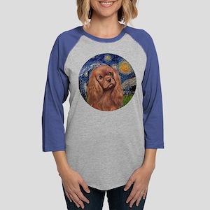 J-ORN-StarryNight-RubyCavalier Long Sleeve T-Shirt