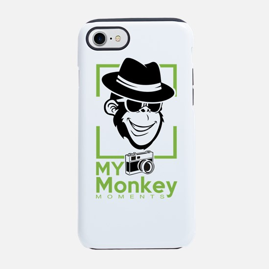 my monkey moments iPhone 8/7 Tough Case