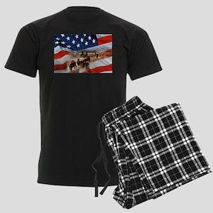 American Wild Men's Dark Pajamas