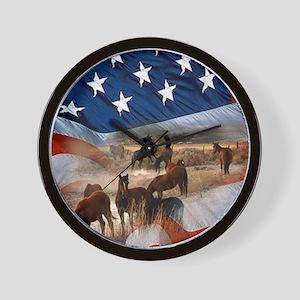 American Wild Wall Clock