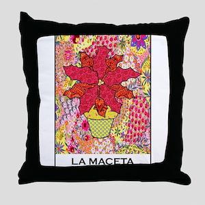La Maceta Throw Pillow