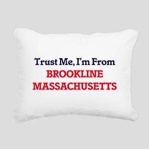 Trust Me, I'm from Brook Rectangular Canvas Pillow