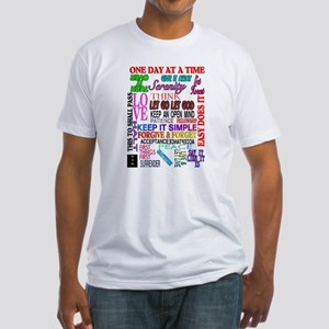 12 STEP SLOGANS IN COLOR T-Shirt