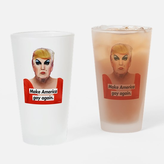 Cool Gay pride Drinking Glass