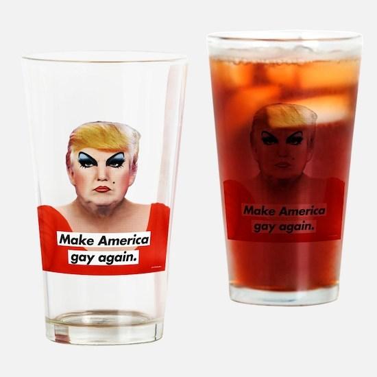 Cute Lgbt Drinking Glass