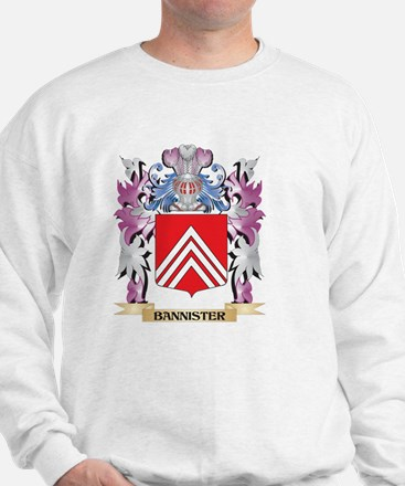 Bannister Coat of Arms (Family Crest) Sweatshirt