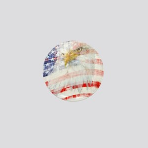 USA Proud Mini Button