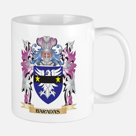 Baradas Coat of Arms (Family Crest) Mugs
