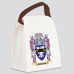 Baradas Coat of Arms (Family Cres Canvas Lunch Bag