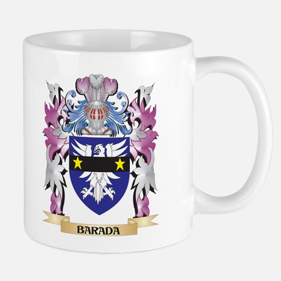Barada Coat of Arms (Family Crest) Mugs