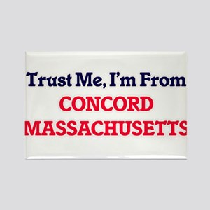Trust Me, I'm from Concord Massachusetts Magnets