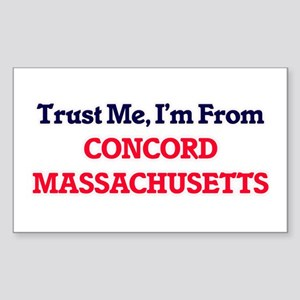 Trust Me, I'm from Concord Massachusetts Sticker