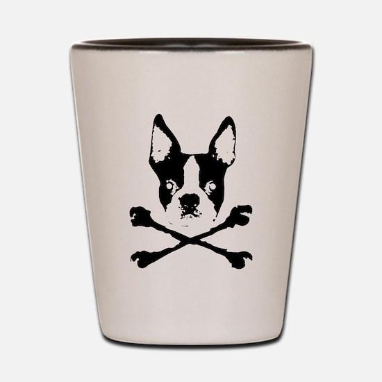 Cute Pirate birthday Shot Glass