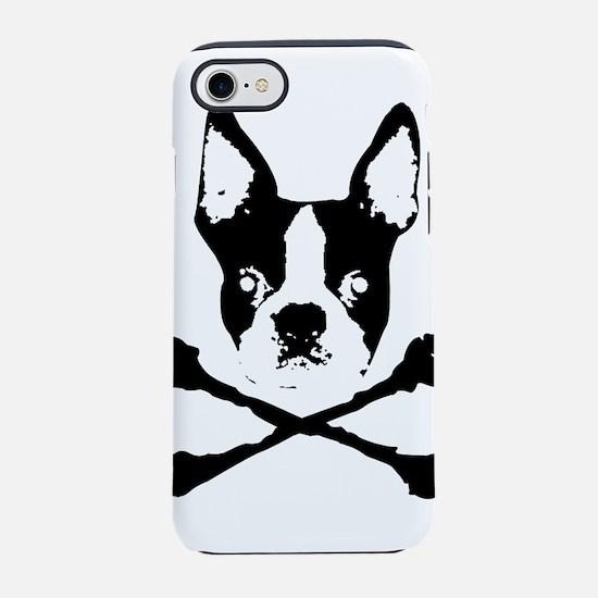 Cute Boston terrier iPhone 8/7 Tough Case