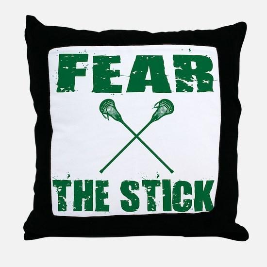 Unique Lacrosse sweat Throw Pillow
