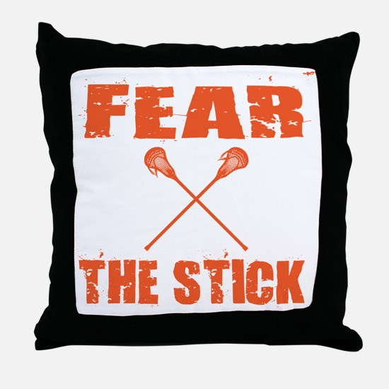 Funny Lacrosse sweat Throw Pillow
