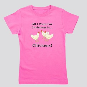 Christmas Chickens T-Shirt