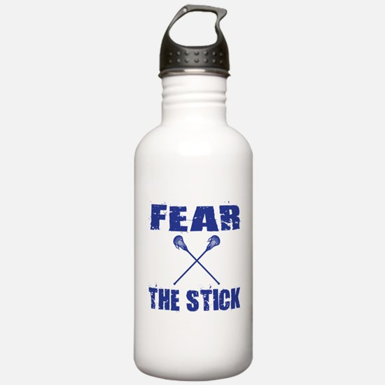 Fear the Stick Lacross Water Bottle