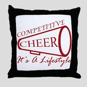 Cheer Gear Throw Pillow
