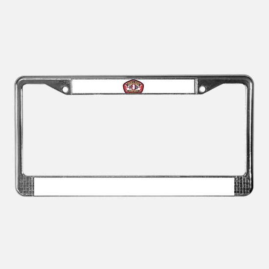 Oakland Fire Dept License Plate Frame