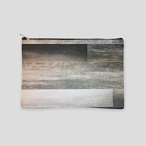 farmhouse grey barn wood Makeup Bag