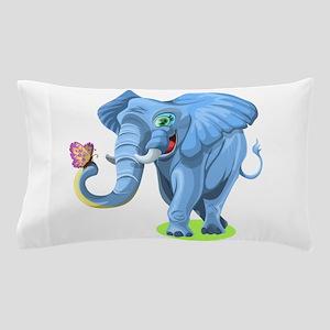 Cartoon Elephant Pillow Case