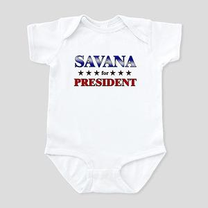 SAVANA for president Infant Bodysuit