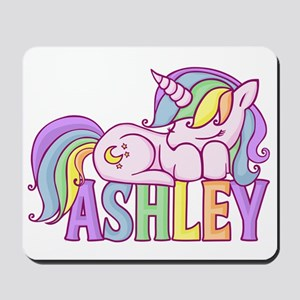 Ashley Unicorn Mousepad