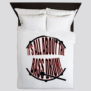 It's All About The Bass... Drum Queen Duvet
