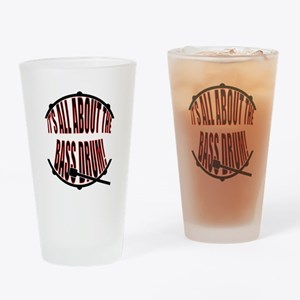 It's All About The Bass... Drum Drinking Glass