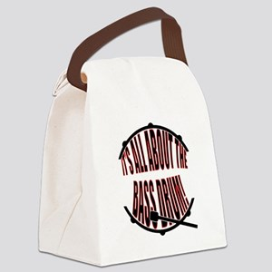 It's All About The Bass... Drum Canvas Lunch Bag