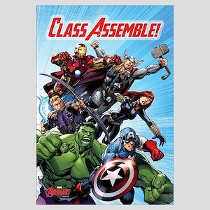 Avengers Class Assemble Wall Art