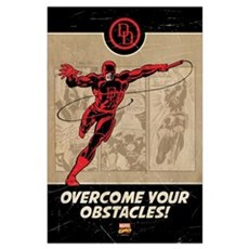 Daredevil Obstacles Wall Art Poster