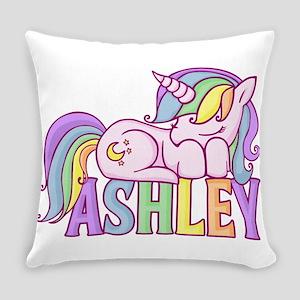 Ashley Unicorn Everyday Pillow