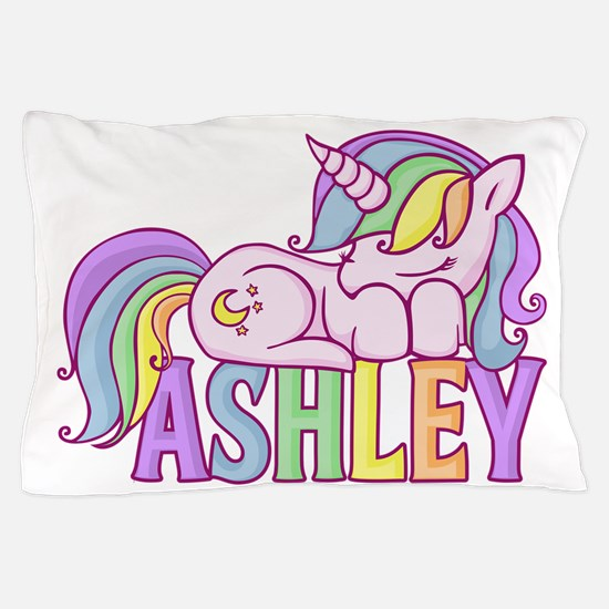 Ashley Unicorn Pillow Case
