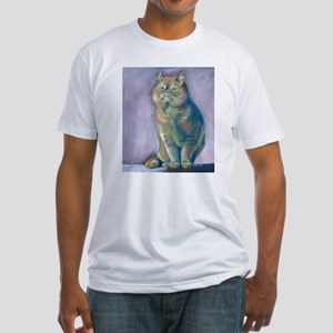 Nigel - Red Exotic Shorthair Fitted T-Shirt