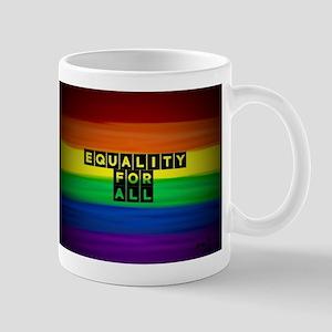 Equality for all . Rainbow art Mugs