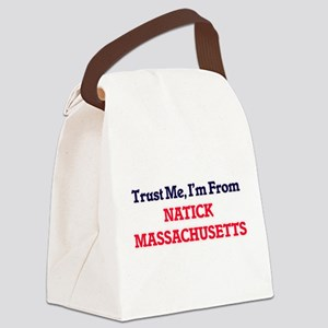 Trust Me, I'm from Natick Massach Canvas Lunch Bag