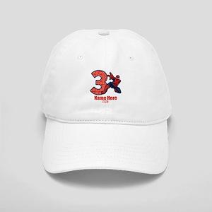 Spider-Man Personalized Birthday 3 Cap