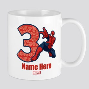 Spider-Man Personalized Birthday 3 Mug