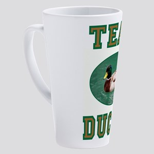 TEAM DUCKY 17 oz Latte Mug